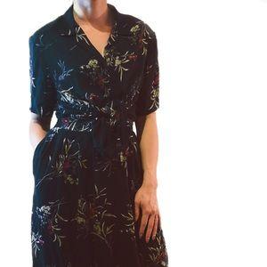 Vintage Floral Coordinate top and skirt